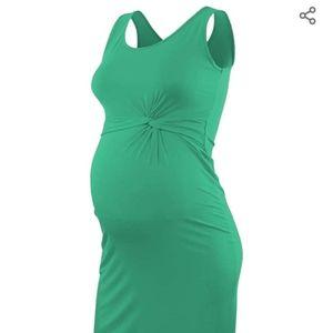 Maternity Sleeveless Bodycon Dress